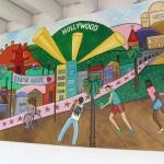 Sunset Boulevard - Part Six: Hooray! Hollywood! Hollywood mural 1