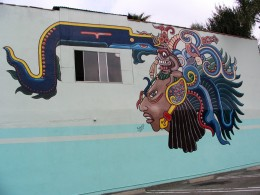 Sunset Boulevard - Part Six: Hooray! Hollywood! Mexican restaurant mural
