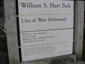Sunset Boulevard – Part Ten: The Strip: William S Hart Park