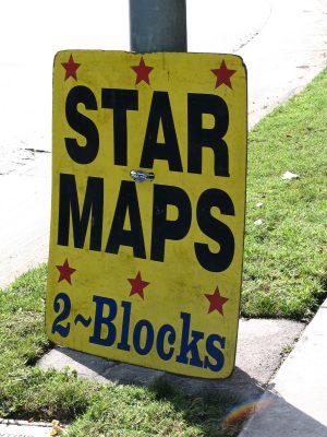 Sunset Boulevard – Part Thirteen: Where the sidewalk ends: Star Maps