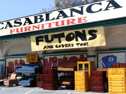 Sunset Boulevard - Part Three: Echo Park, Casablanca Furniture