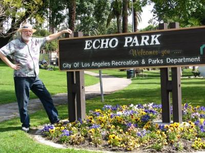 Sunset Boulevard - Part Three: Echo Park, John Varley, Echo Park sign