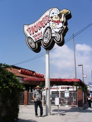 Sunset Boulevard - Part Three: Echo Park, John Varley, Pioneer take out