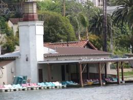 Sunset Boulevard - Part Three: Echo Park Lake, boat rental