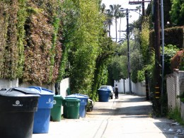Sunset Boulevard - Part Twelve: Garbage Cans of Beverly Hills: alley 3