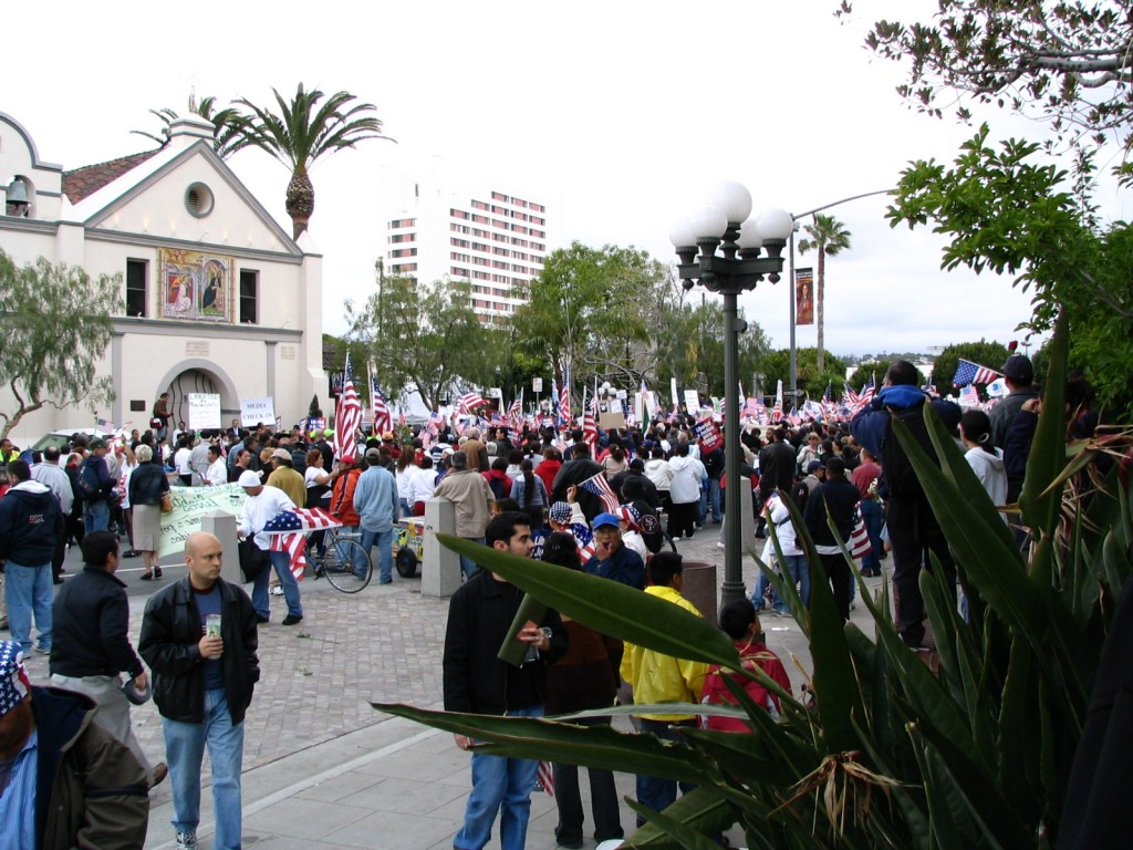 Sunset Boulevard - Part Two: immigration march, 2