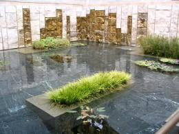 Sunset Boulevard – coda: Getty Villa, pond