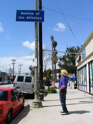 Sunset Boulevard-Part One: John Varley Avenue of the Athletes