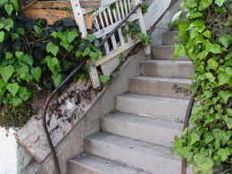 Sunset Boulevard-Part One: stairs-4