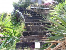 Sunset Boulevard-Part One: stairs-5