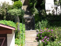 Sunset Boulevard-Part One: stairs-6