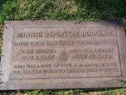 The Dead - Part 2: Pierce Brothers Westwood Village Memorial Park: Minnie Riperton