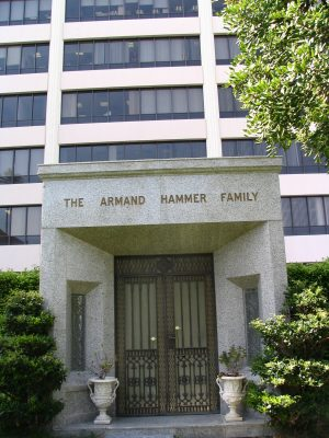 The Dead - Part 2: Pierce Brothers Westwood Village Memorial Park: The Armand Hammer Family