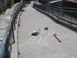 Up LA River Part 10: crime scene