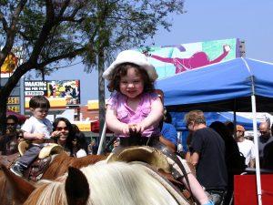 Up LA River Part 10: princess on a pony