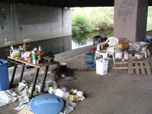 Up LA River Part 2: campsite