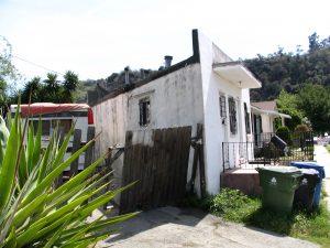 Up LA River Part 2: tiny triangular house