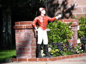 Up LA River Part 5: lawn jockey
