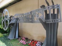 Up LA River Part 8: film strip sculpture