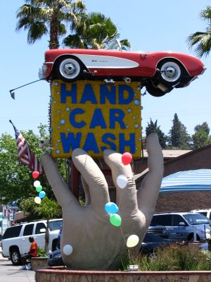 Up LA River Part 9: hand carwash