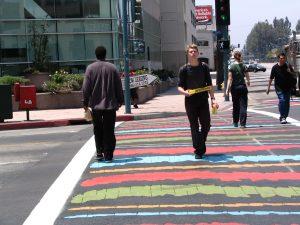 Up LA River Part 9a: NOHO crosswalk