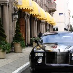 Wilshire Blvd Part 4: Rolls Royce in front of Beverly Wilshire