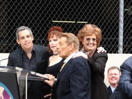 Ben Stiller, Amy Stiller, Jerry Stiller & Anne Meara