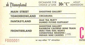 Disneyland and California Adventure Part 4: C ticket