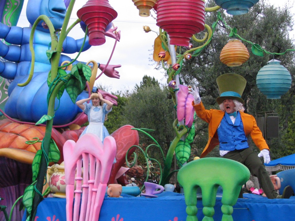 Disneyland and California Adventure Part 5: Alice and the Mad Hatter