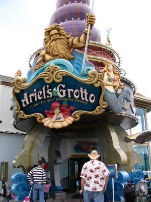 Disneyland and California Adventure Part 5: Ariel's Grotto