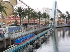 Disneyland and California Adventure Part 5: California Screamin' start