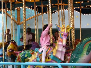Disneyland and California Adventure Part 5: King Triton's Carousel