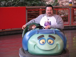 Disneyland and California Adventure Part 5: Tuck and Roll Drive 'em Buggies 1