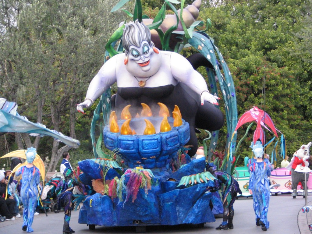 Disneyland and California Adventure Part 5: Ursula the Sea Witch