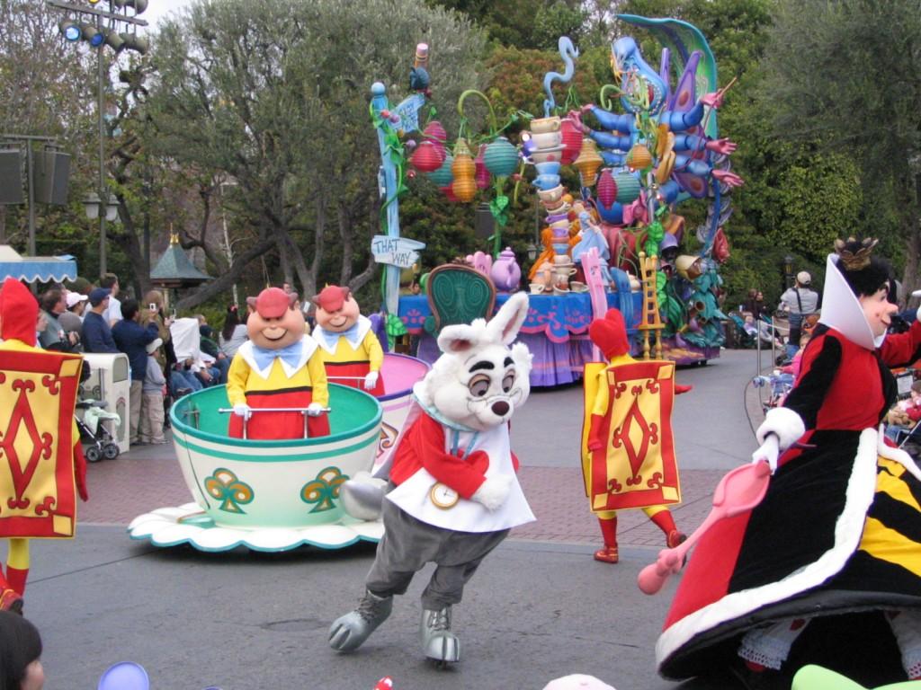 Disneyland and California Adventure Part 5: White Rabbit