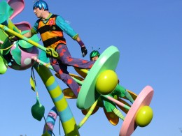 Disneyland and California Adventure Part 7: Acrobats