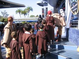 Disneyland and California Adventure Part 7: waiting to fight Darth Vader
