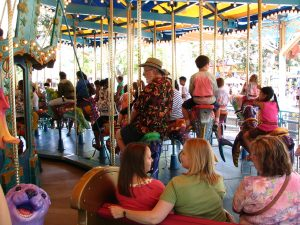 Disneyland and California Adventure Part 8: John Varley on King Triton Carousel