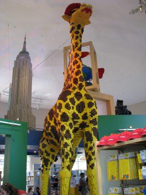 Disneyland and California Adventure Part 8: Lego Giraffe