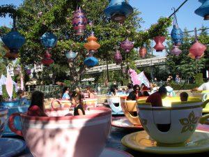Disneyland and California Adventure Part 8: Mad Tea Party
