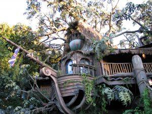 Disneyland and California Adventure Part 9: Tarzan's Treehouse