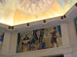 Griffith Observatory: mural 1