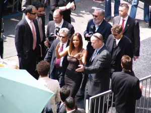 Halle Berry arrives