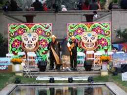 Hollywood Forever Day of the Dead: Fairbanks Stage