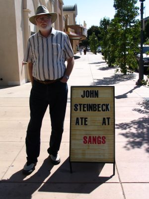 John Varley and Steinbeck ate at Sangs