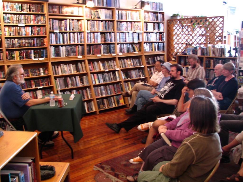 John Varley at Borderlands Books
