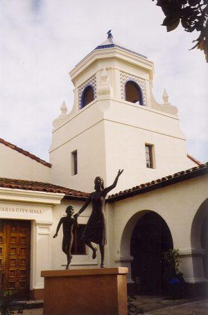 Michael Jackson trial: Santa Maria City Hall