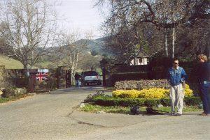 Neverland Ranch entrance 1