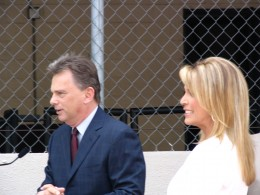 Pat Sajak & Vanna White