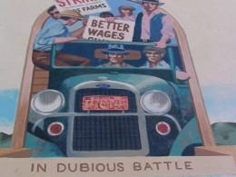 Steinbeck Center mural: In Dubious Battle